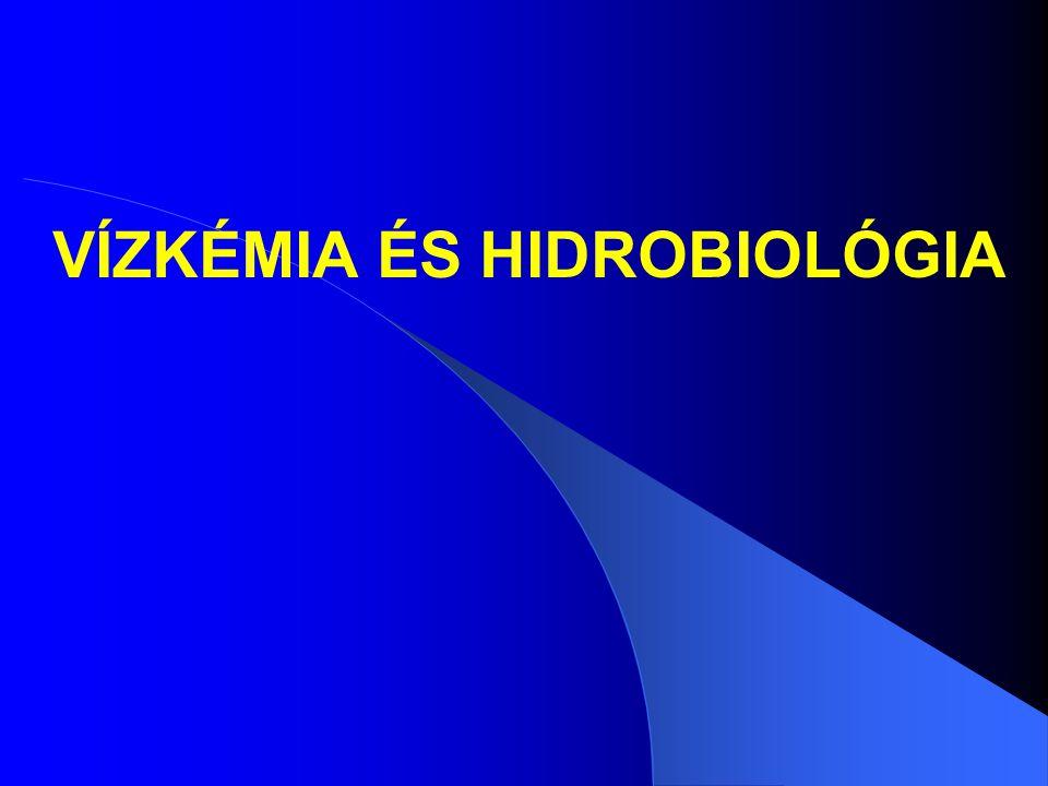 Az oligotrófia és eutrófia összehasonlítása (2) OligotrófiaEutrófia Jellemző algacsoportok Zöldalgák Desmidiaceae Kékalgák Anabaena Aphanizomenon Microcystis Oscillatoria Kovamoszatok Tabellaria Cyclotella Melosira islandica Kovamoszatok Melosira )kiv.: islandica) Fragillaria Stephanodiscus Asterionella Aranybarna moszatok Dinobryon