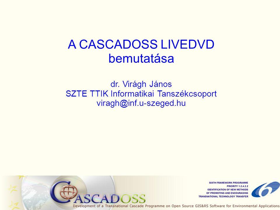 A CASCADOSS LIVEDVD bemutatása dr.