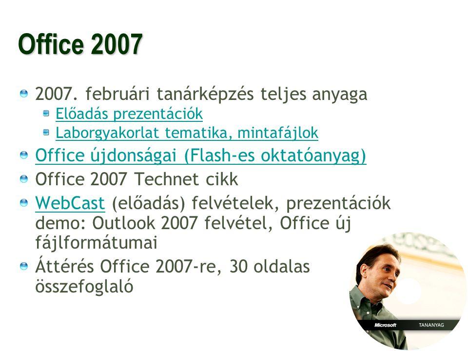 19 OKJ és haladó ismeretek 2.System Center Windows Server 2008 Server a hálózatban új anyagok.