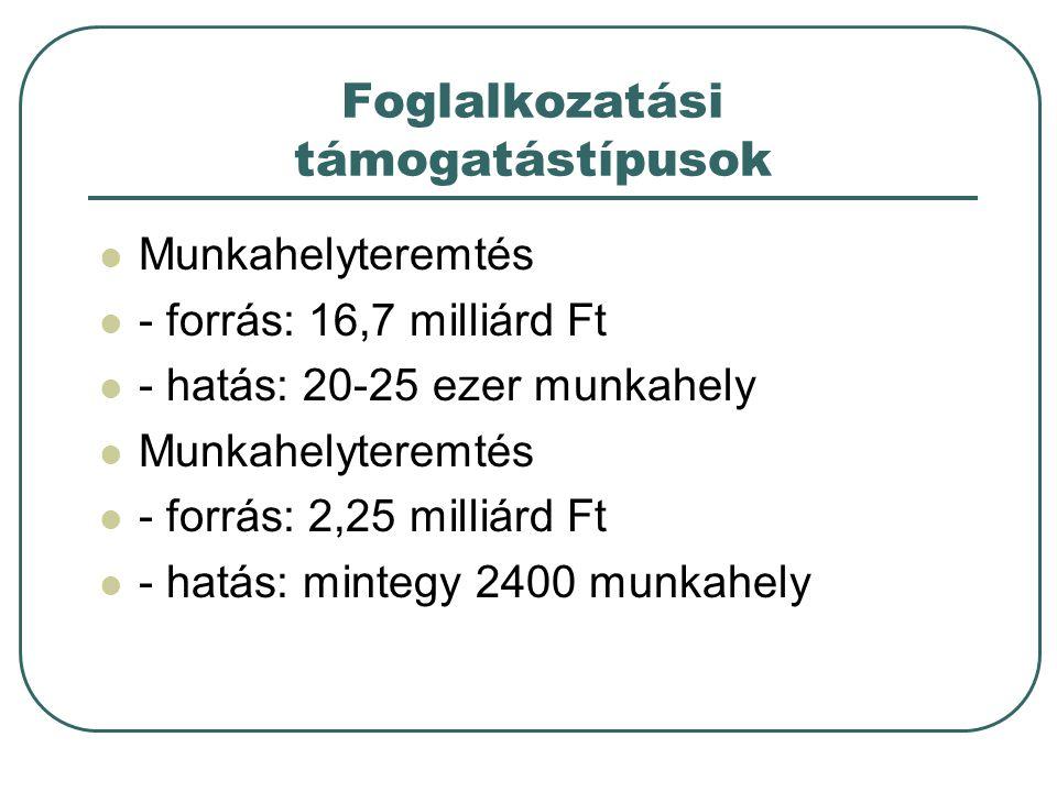 """Munkahelymegőrzés A """"Munkahelyek megőrzéséért program - 10 mrd Ft - megvalósítók a MK-k - munkáltatók és álláskeresők javára - indul: ??, határidő: 2009.12.31."""