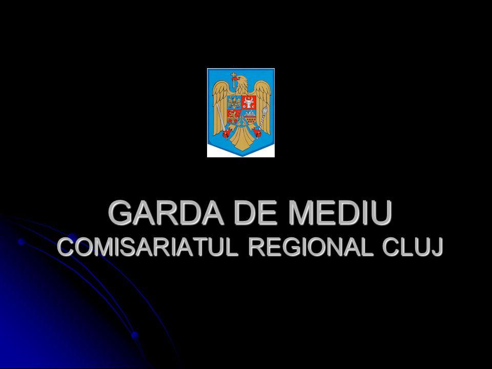 GARDA DE MEDIU COMISARIATUL REGIONAL CLUJ