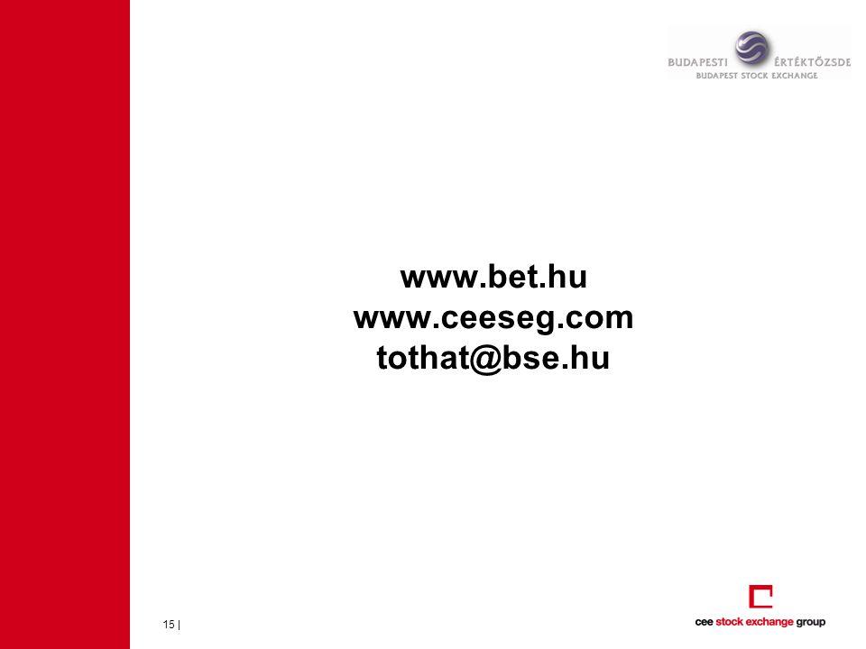 www.bet.hu www.ceeseg.com tothat@bse.hu 15 |
