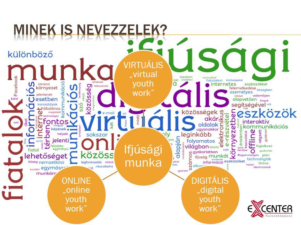 "Ifjúsági munka VIRTUÁLIS ""virtual youth work DIGITÁLIS ""digital youth work ONLINE ""online youth work"