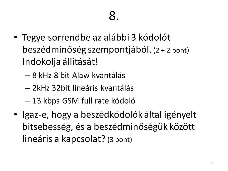 BESZÉDKÓDOLÁS 18