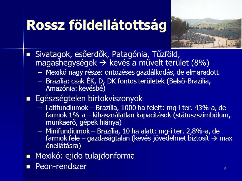 44 Függőleges (magassági) övezetesség: éghajlati emeletek magassági szint felső magassági határ jellemző termesztett növény tierra heladahideg föld gazdaságilag alig hasznosítható tierra fríahűvös földkb.