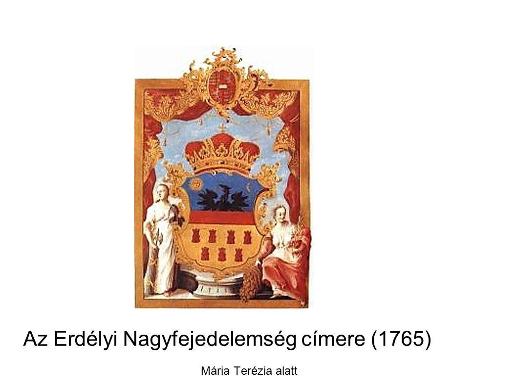 Az Erdélyi Nagyfejedelemség címere (1765) Mária Terézia alatt