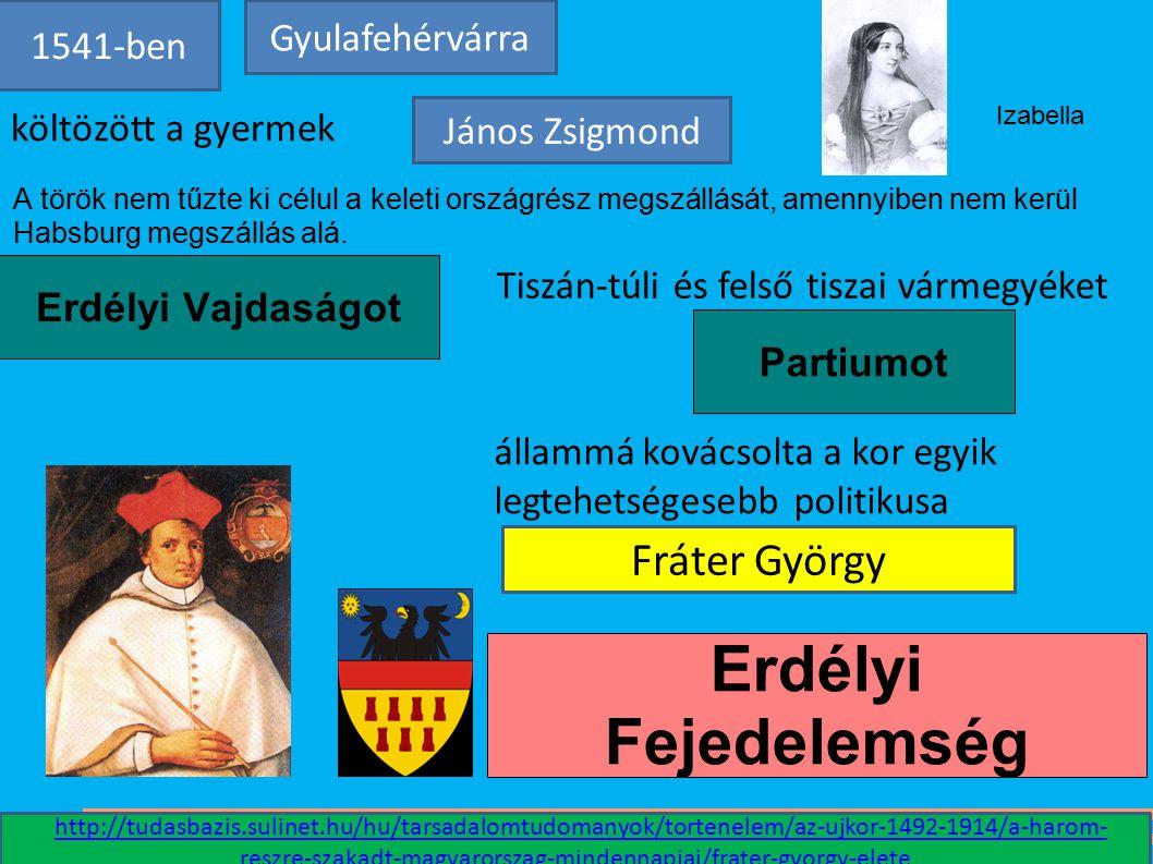Erdélyi Vajdaságot Partiumot A török nem tűzte ki célul a keleti országrész megszállását, amennyiben nem kerül Habsburg megszállás alá. Erdélyi Fejede