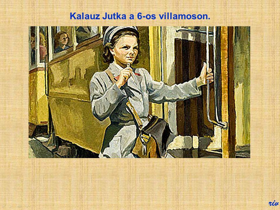 Villamoskalauz Akárcsak a vasúton, hajdanában a BKV villamosain és autóbuszain is kalauzok utaztak, akiktől a felszállók jegyet válthattak. 1969 júniu