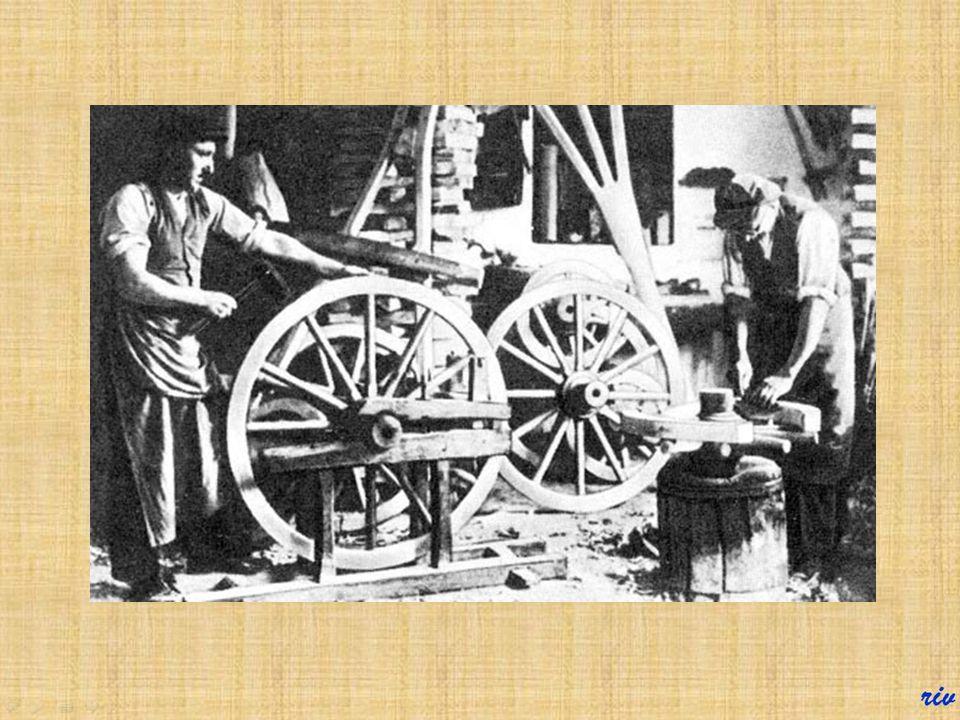Kerékgyártó Külön mesterség volt a lovaskocsik kerekének elkészítése.