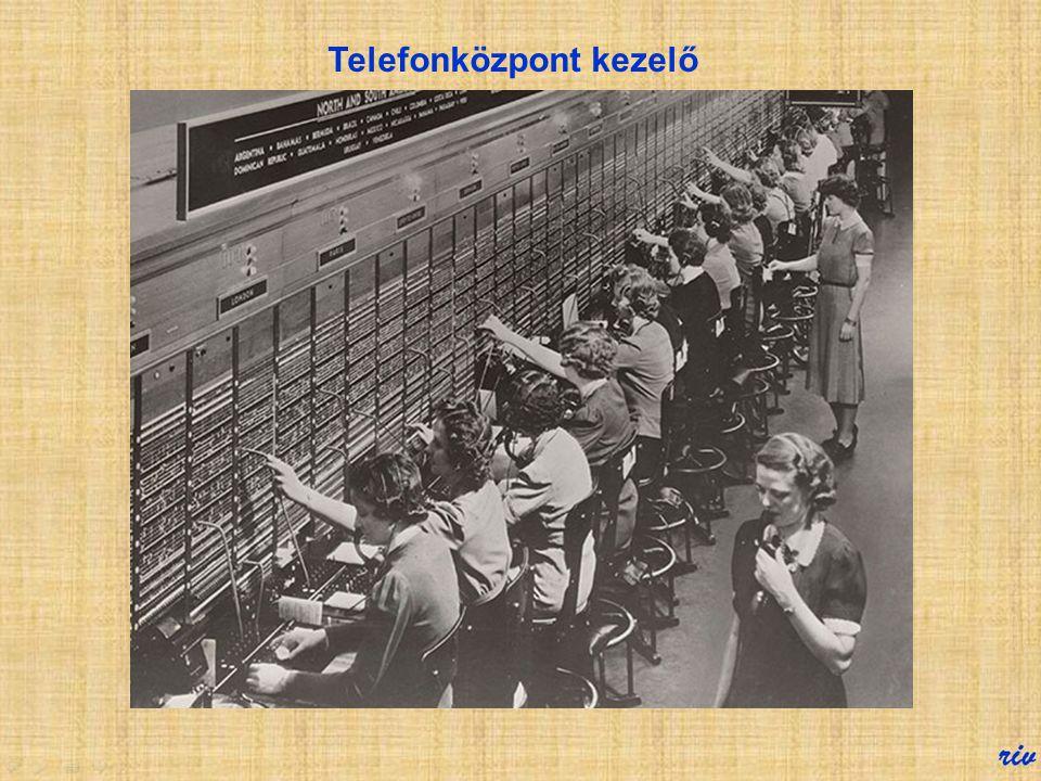 Noha a számtárcsával távvezérelhető, elektromechanikus telefonközpont szabadalmát Almon Brown Strowger temetkezési vállalkozó már 1891-ben, alig két é