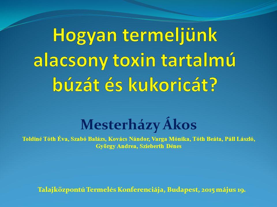 Prosaro 1,0 L/ha Kezeletlen kontroll Fungicidek