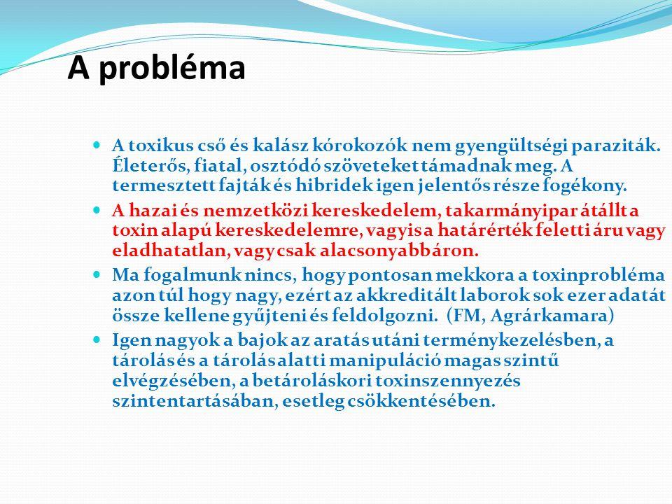 A probléma A toxikus cső és kalász kórokozók nem gyengültségi paraziták.