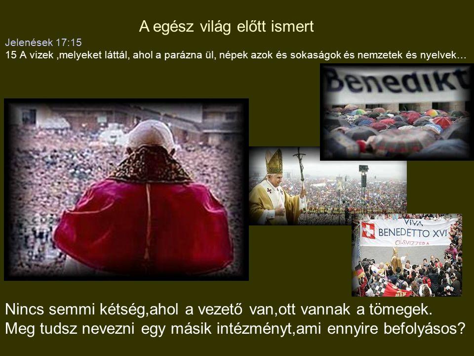 2 Kor 11:14-15 14 a Sátán,mint a világosság angyala jelenik meg 15 Nem meglepő,ha a szolgája is a igazság szolgálójaként jelenik meg 2.Jelenések:13:11