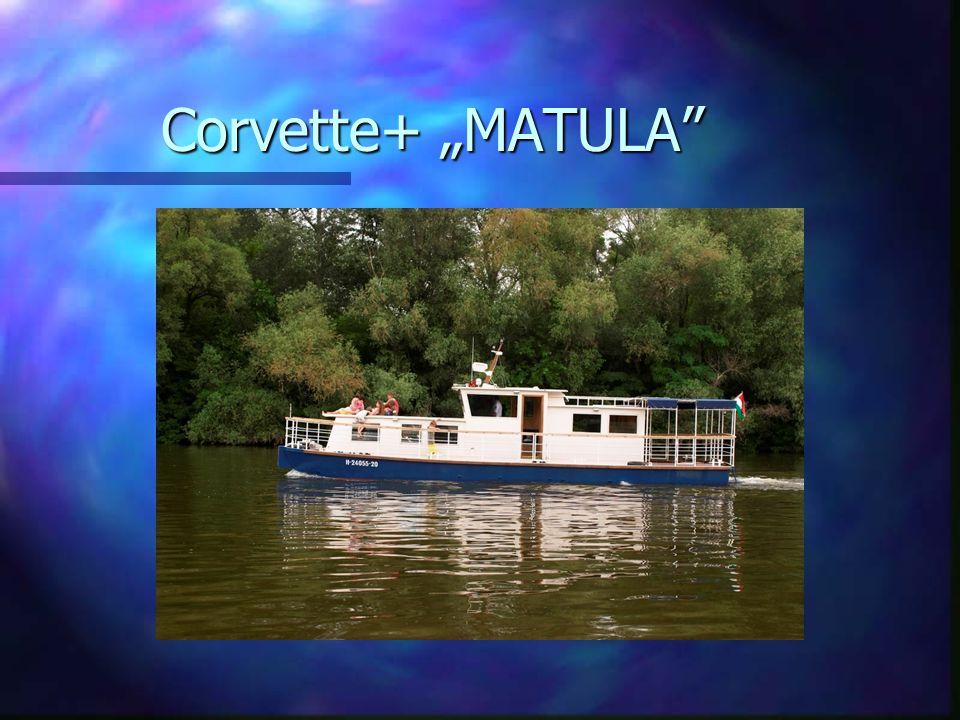 """Corvette+ """"MATULA"""""""