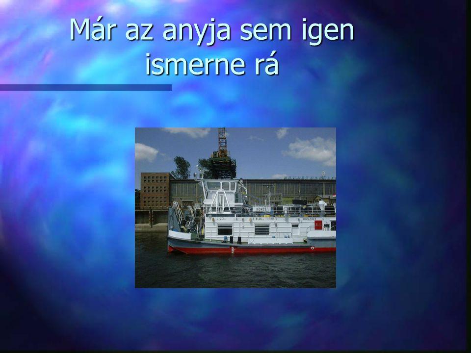 Szerkesztés 1960-2000 n A SZERKESZTÉS új hajók tervezésére is alkalmas volt.