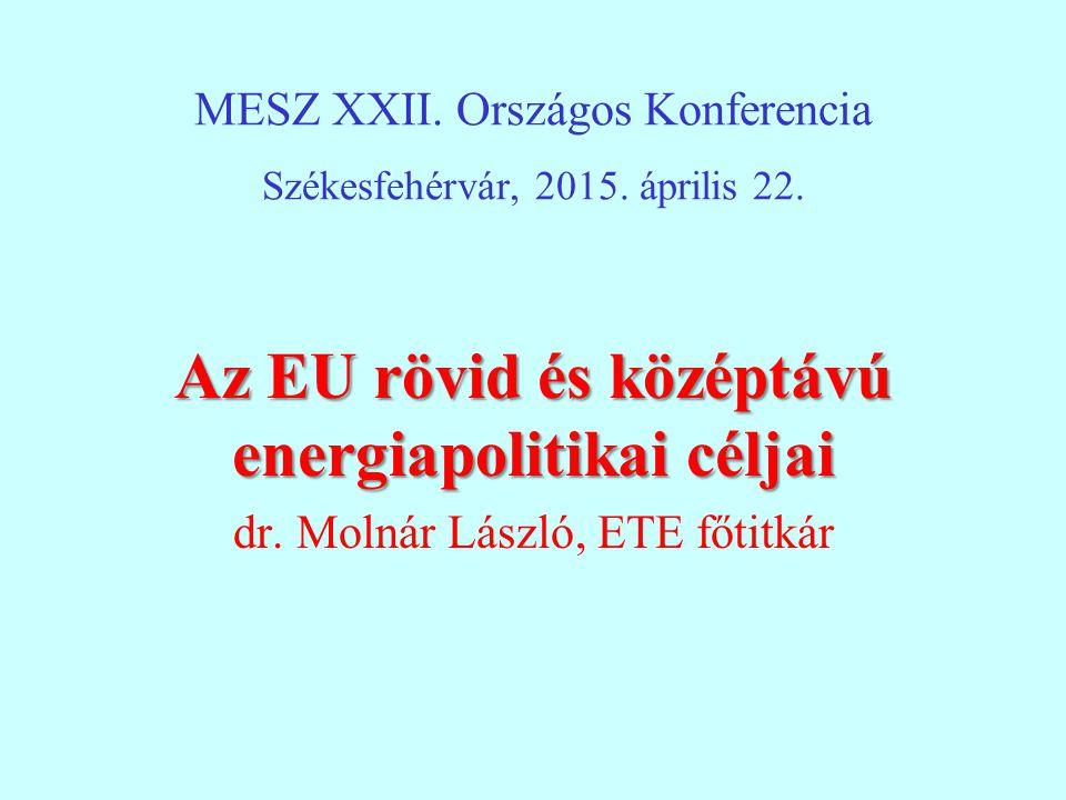 MESZ XXII.Országos Konferencia Székesfehérvár, 2015.