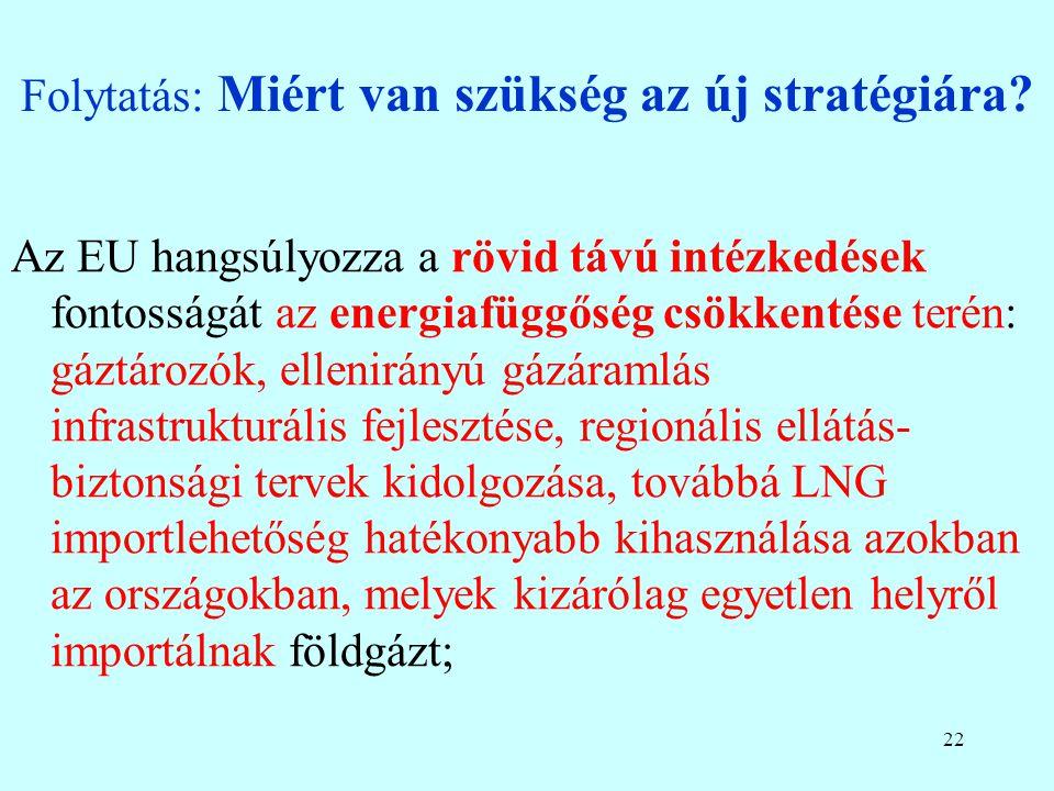 21 Folytatás: Miért van szükség az új stratégiára.