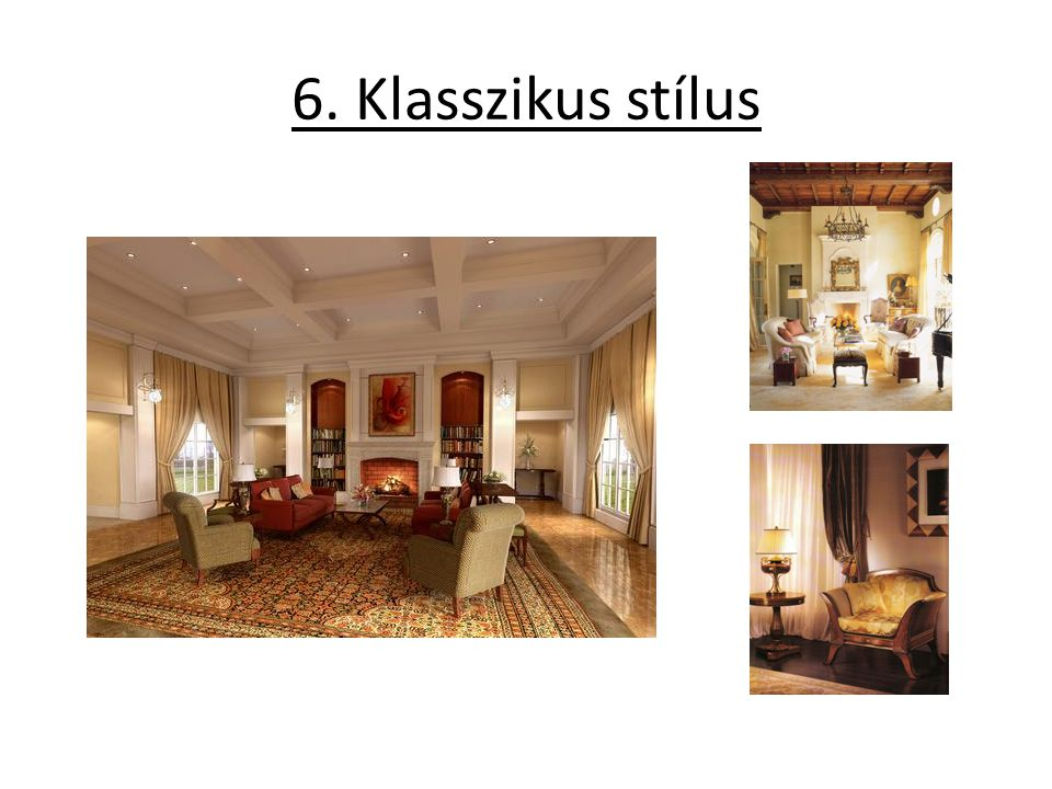 6. Klasszikus stílus