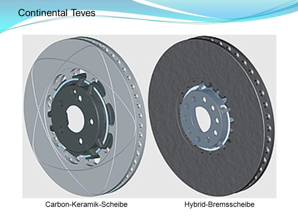 Continental Teves Carbon-Keramik-ScheibeHybrid-Bremsscheibe