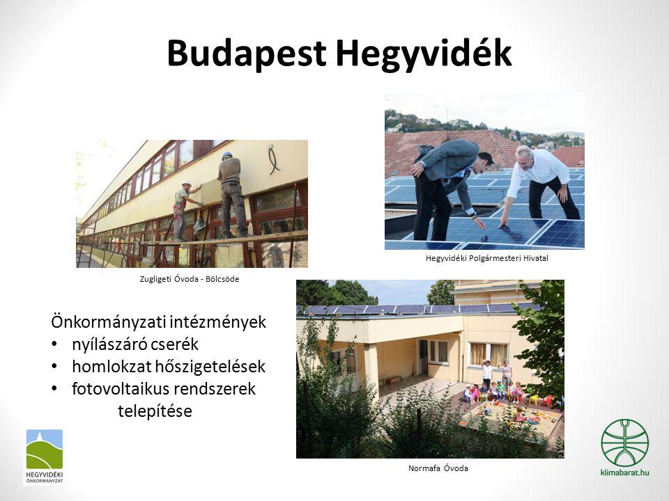 Budapest Hegyvidék Önkormányzati intézmények nyílászáró cserék homlokzat hőszigetelések fotovoltaikus rendszerek telepítése Hegyvidéki Polgármesteri H