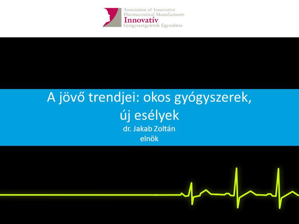 A jövő trendjei: okos gyógyszerek, új esélyek dr. Jakab Zoltán elnök