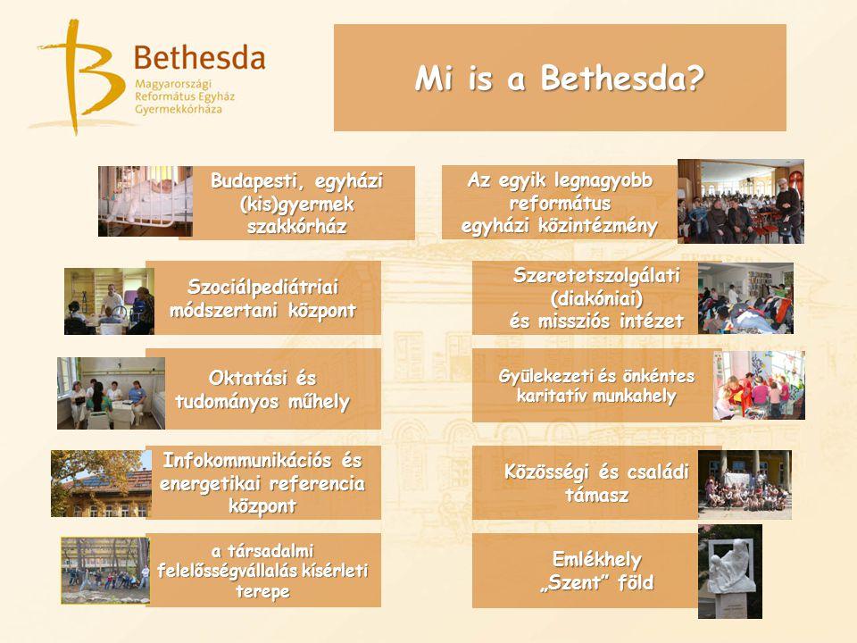 Budapesti, egyházi (kis)gyermek szakkórház Mi is a Bethesda.
