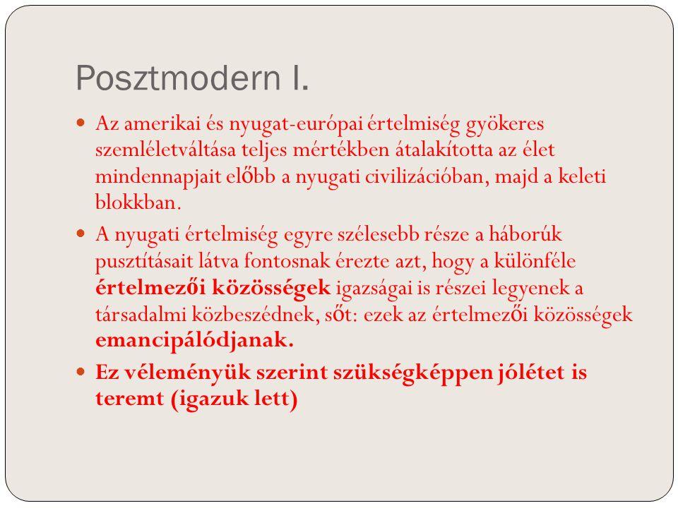 Posztmodern II.
