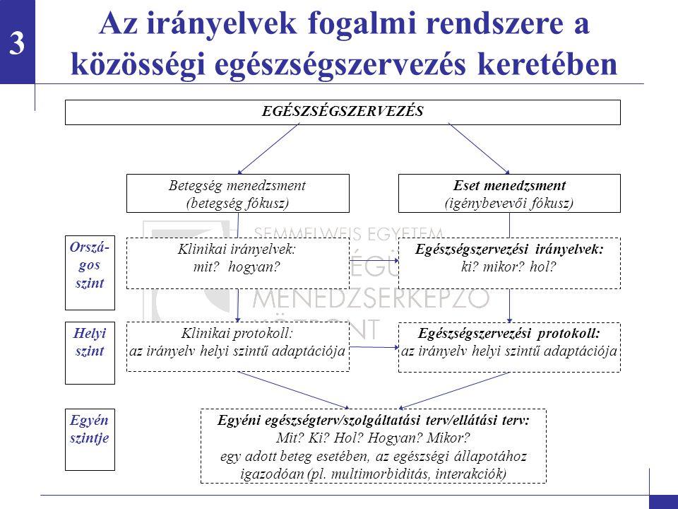 Az ESZIR fejlesztésének módszertani kérdései Hogy néz ki az ESZIR mint végtermék.