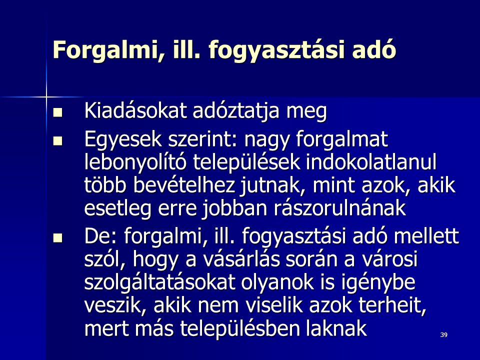 39 Forgalmi, ill.