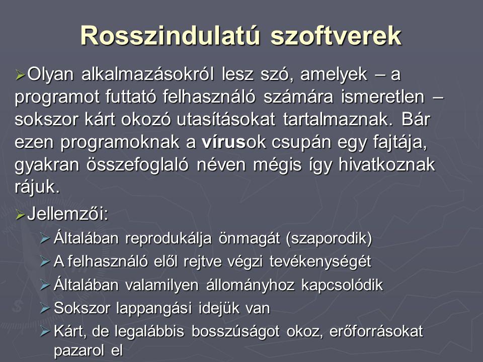 Vírus toplisták  Magyar vírus top 10 (2008.