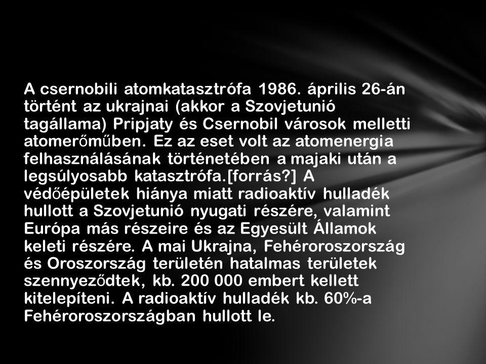 A baleset hatására megkérdőjeleződött a szovjet atomenergia-ipar biztonságossága, ami évekre lassította fejlődését, a szovjet kormánynak pedig le kellett állnia a titkolózással.