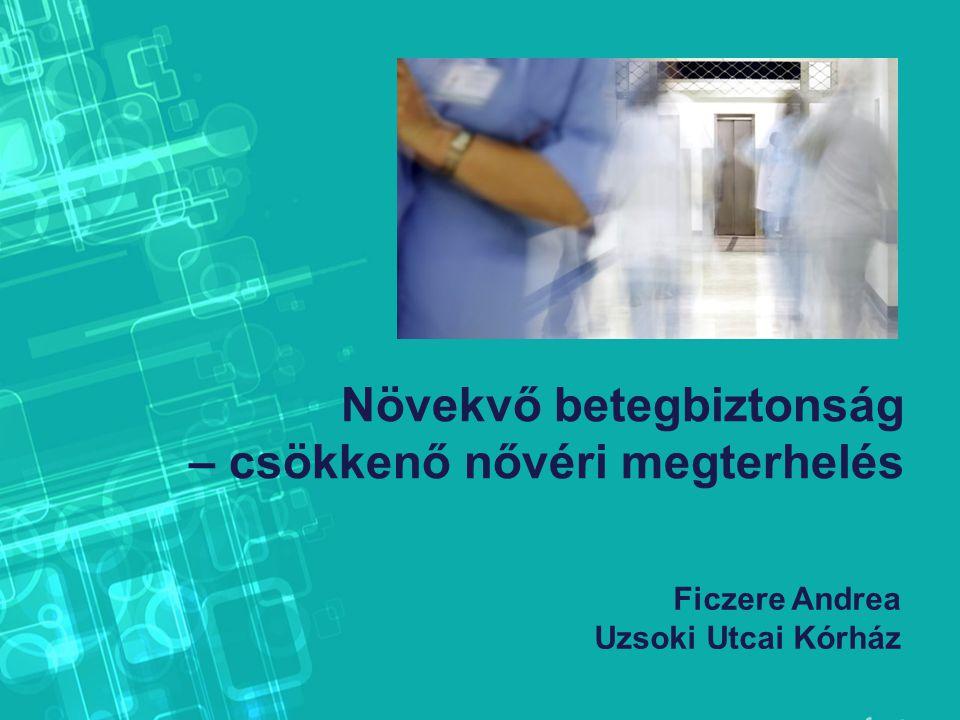 Növekvő betegbiztonság – csökkenő nővéri megterhelés Ficzere Andrea Uzsoki Utcai Kórház
