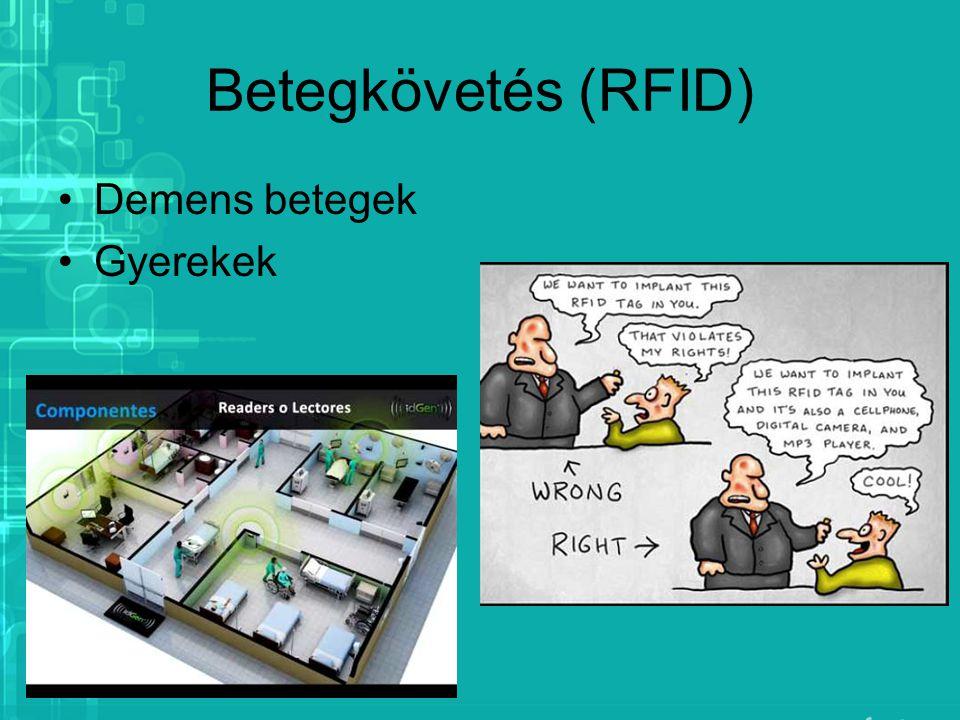 Betegkövetés (RFID) Demens betegek Gyerekek