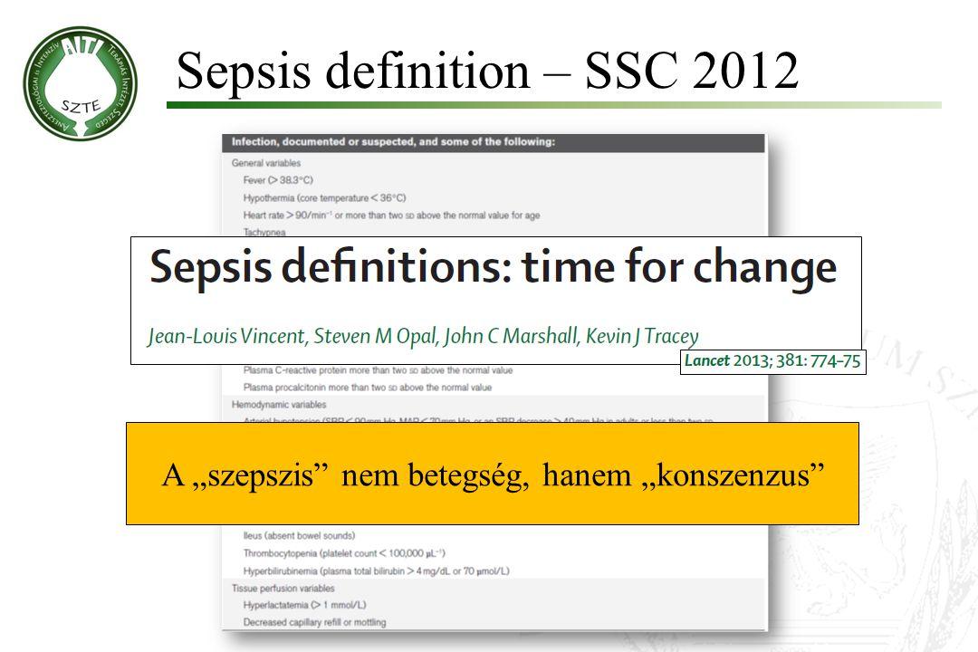 """Sepsis definition – SSC 2012 A """"szepszis"""" nem betegség, hanem """"konszenzus"""""""