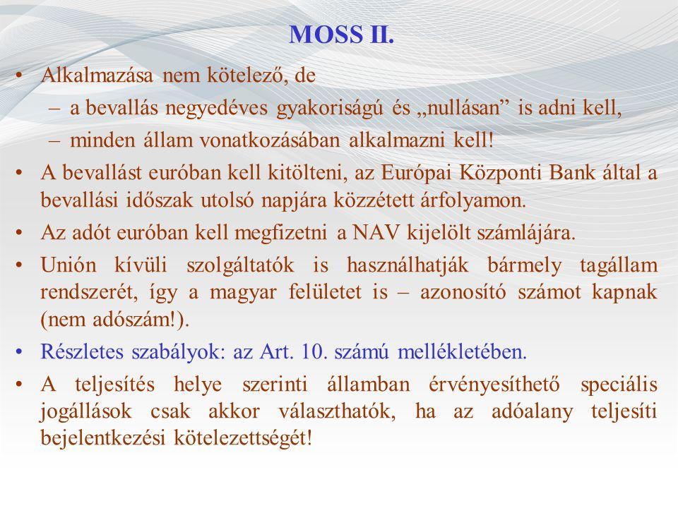MOSS II.