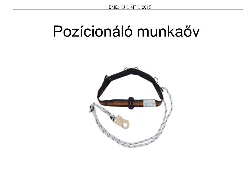 Pozícionáló munkaőv BME.-KJK. MTK. 2015