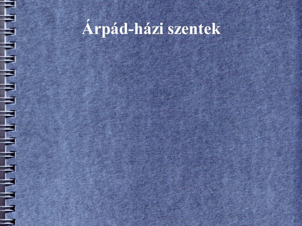 Árpád-házi szentek