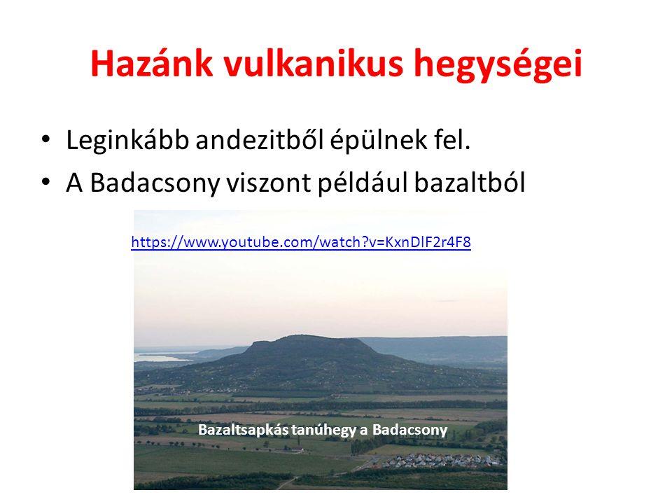 SzentGyörgy-hegy bazaltorgonái