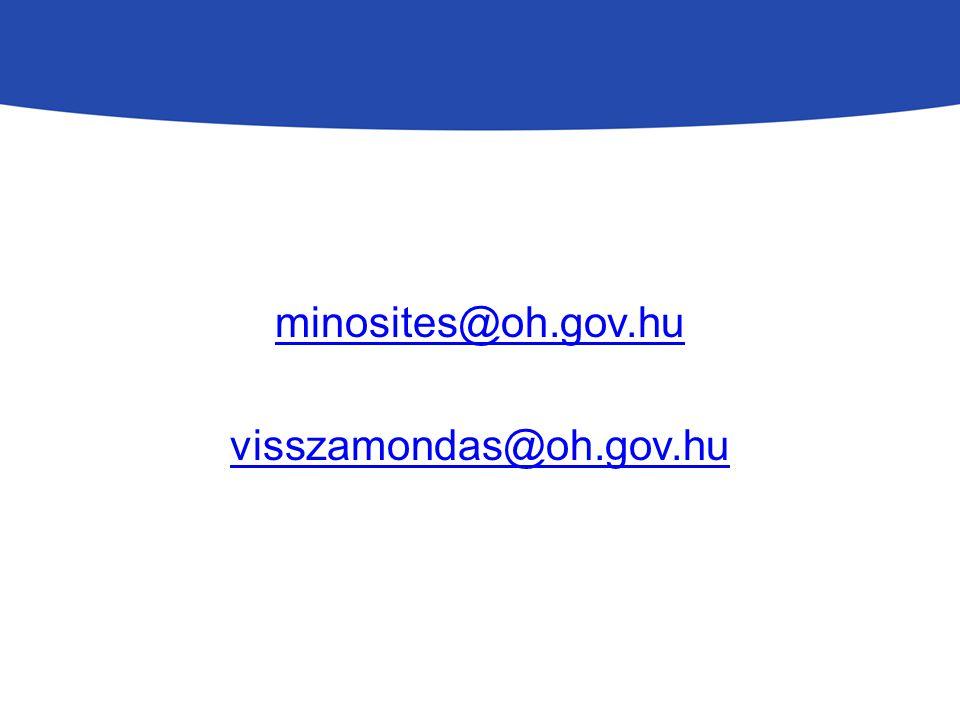 minosites@oh.gov.hu visszamondas@oh.gov.hu