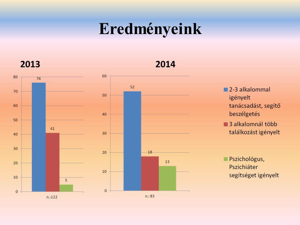 Eredményeink 20132014