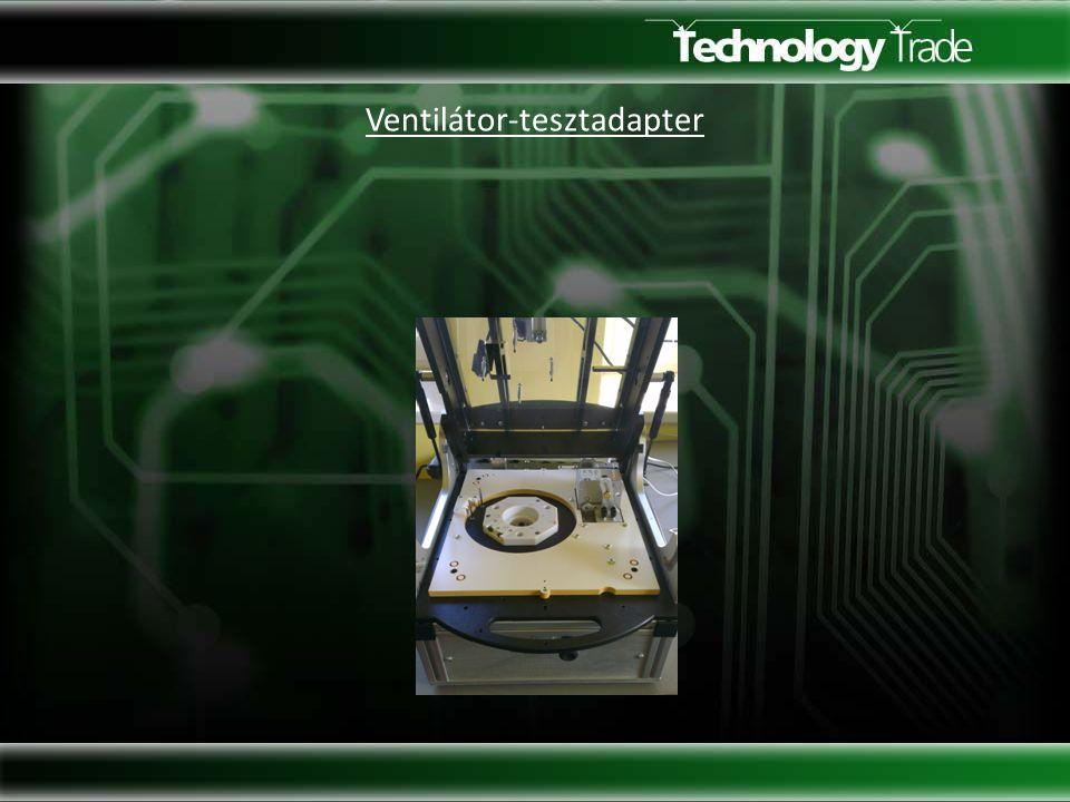 Ventilátor-tesztadapter