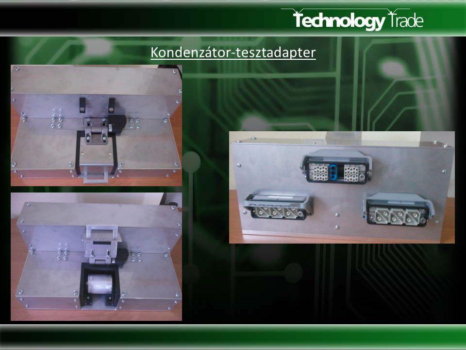 Kondenzátor-tesztadapter
