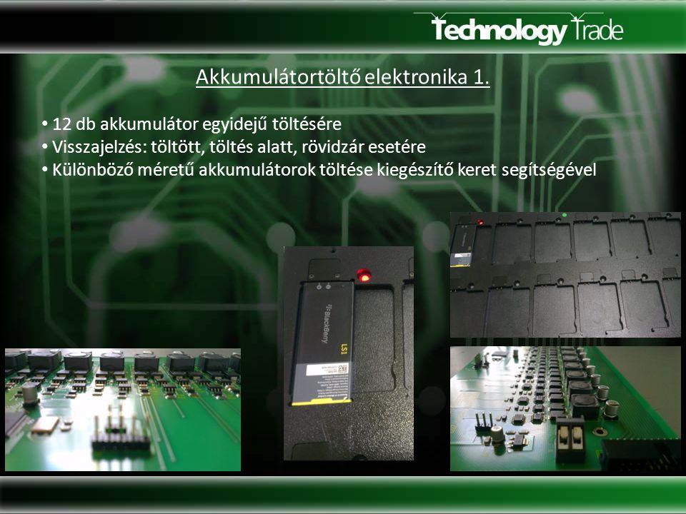 Akkumulátortöltő elektronika 2.