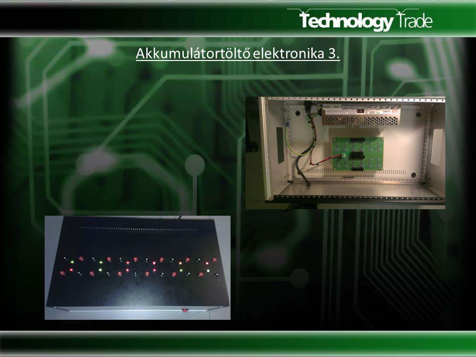 Akkumulátortöltő elektronika 3.