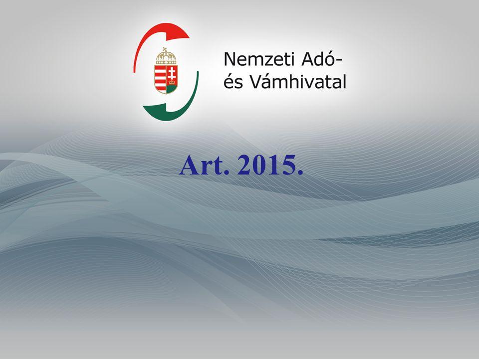 MOSS-rendszer Art.10. melléklet A 2014. évi XXXIII.