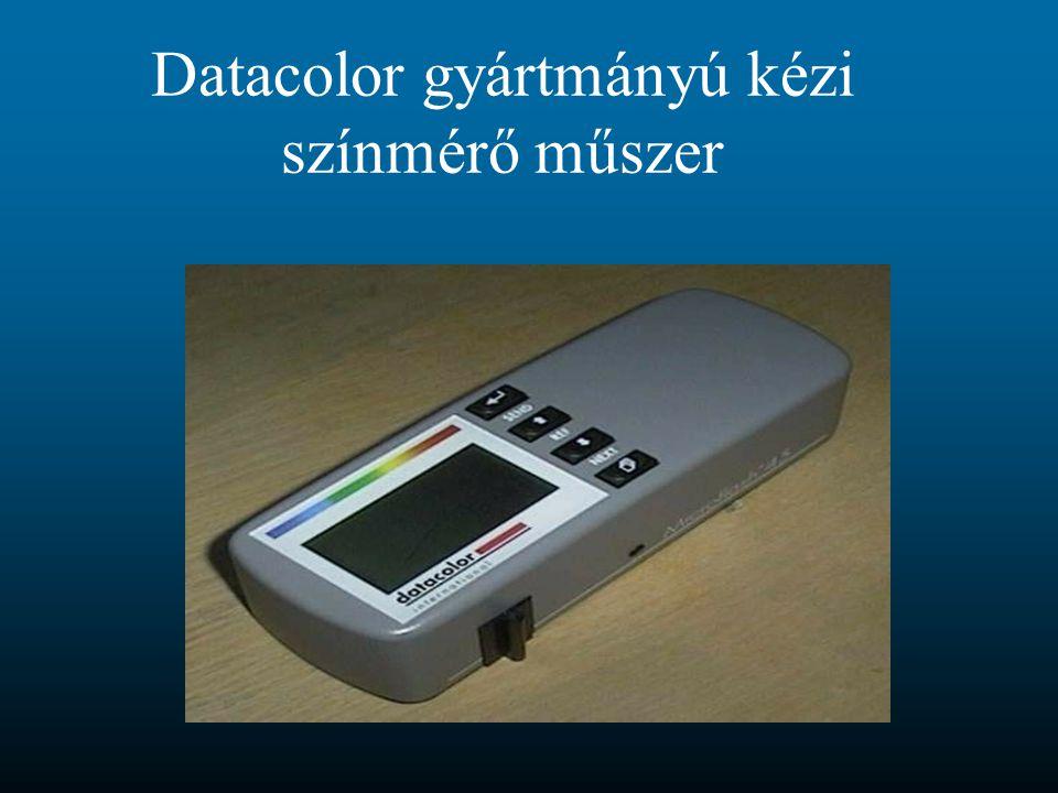 Datacolor gyártmányú kézi színmérő műszer