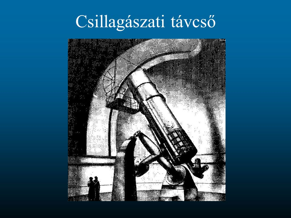 Csillagászati távcső