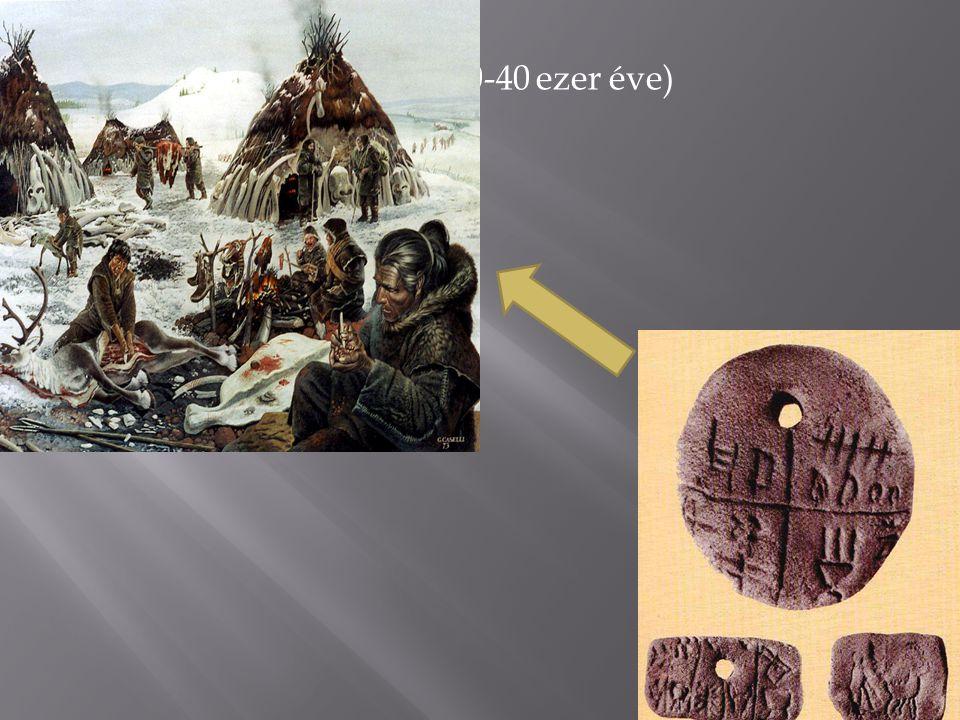 III. Nyelv kialakulása (280-40 ezer éve)