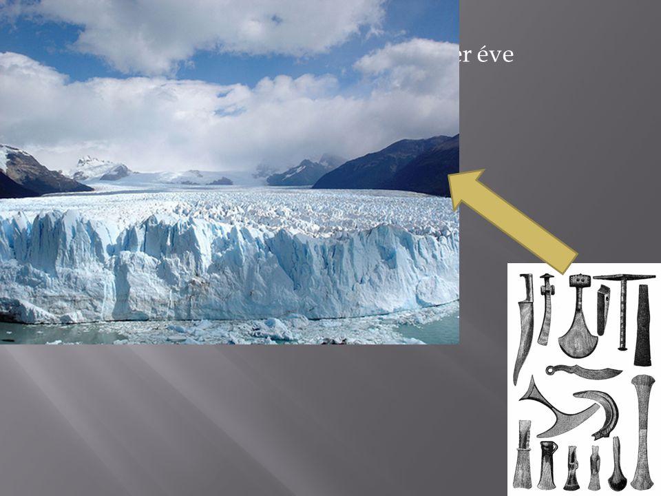 IV. Mezőgazdaság megjelenése (10 ezer éve – utolsó jégkorszak megjelenése)