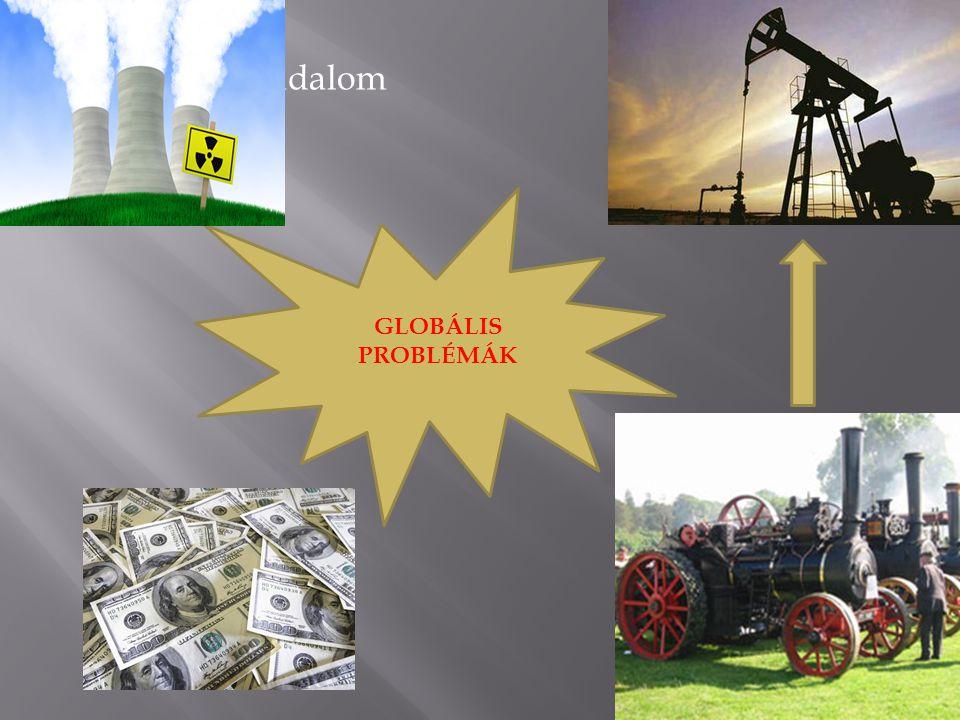 VII. Ipari forradalom GLOBÁLIS PROBLÉMÁK